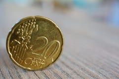 eurocents vingt Photo libre de droits