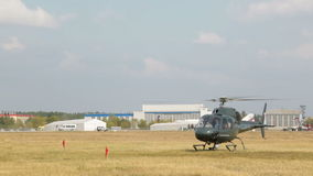 Eurocopter ALS 355N Ecureuil stock video