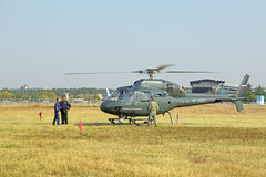 Eurocopter AS 355N Ecureuil Stock Photo