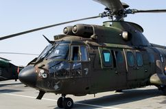 Eurocopter AS 532 AL Cougar Royalty Free Stock Images