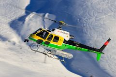 Eurocopter AS350 B3 HB-ZJP Swiss Helicopter royalty free stock photography