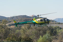 Eurocopter AS350B2 helicopter during Los Angeles American Heroes Stock Photography