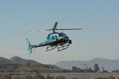Eurocopter AS350 helicopter during Los Angeles American Heroes A Stock Photography