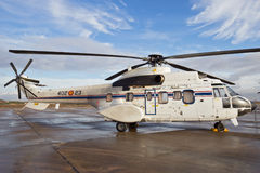 Eurocopter Cougar VIP helicopter Royalty Free Stock Photos