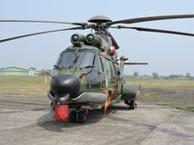 EC 725 AP Caracal combat helicopter stock photos