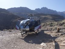 Eurocopter EC130 helicopter Royalty Free Stock Images