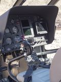 Eurocopter EC130 helicopter Royalty Free Stock Photos