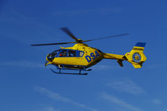 Eurocopter EC-135T2. Czech rescue helicopter EC-135T2 OK-DSC Royalty Free Stock Photos