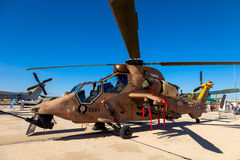 Eurocopter EC-665 Tiger Royalty Free Stock Photography