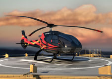 Eurocopter EC130 Stock Photo