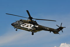 Eurocopter EN TANT QUE 332 M1 puma superbe T-316 Photos stock