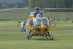 Eurocopter Leben-Flug-Hubschrauber Stockfotografie