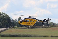 Eurocopter Life Flight Royalty Free Stock Images