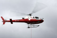 Eurocopter of Swiss Helicopter airlines Stock Photo