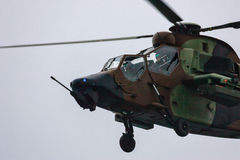 Eurocopter Tiger Spanish Army Royalty Free Stock Photos