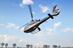 Eurocopter tijdens de vlucht royalty-vrije stock foto