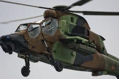 Eurocopter Tygrysi Hiszpański wojsko Zdjęcie Royalty Free