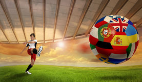 Eurocup Stockfoto