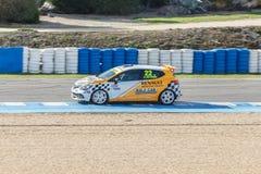 Eurocup Clio 2014 - Andrey Artyushin - Ralf-Car Royalty Free Stock Photos