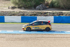Eurocup Clio 2014 - Fabio Mota - Lema Racing Team Royalty Free Stock Images