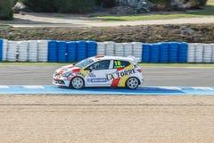Eurocup Clio 2014 - Pablo Martin - SMC Junior Motorsport Royalty Free Stock Photo