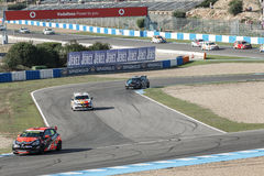 Eurocup Clio 2014 - Qualifying Session Stock Photography
