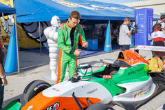 Eurocup Formula Renault 2.0 2014 - Andrea Pizzitola - Manor MP M Royalty Free Stock Images