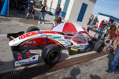 Eurocup Formula Renault 2.0 2014 - Levin Amweg - ART Junior Team Royalty Free Stock Photos