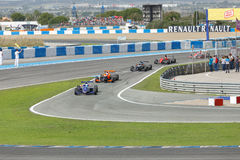 Eurocup Formula Renault 2.0 2014 - Race Over Royalty Free Stock Photos