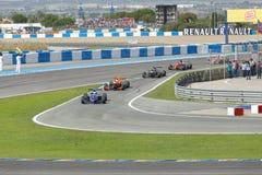 Eurocup Formula Renault 2.0 2014 - Race Over Royalty Free Stock Photos