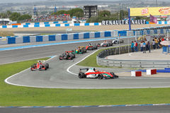 Eurocup Formula Renault 2.0 2014 - Race Over Royalty Free Stock Photo