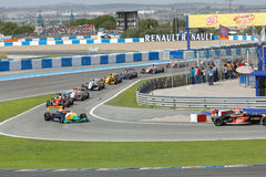 Eurocup Formula Renault 2.0 2014 - Race Over Stock Photo