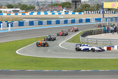 Eurocup Formula Renault 2.0 2014 - Race Over Royalty Free Stock Image