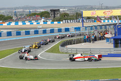 Eurocup Formula Renault 2.0 2014 - Race Over Royalty Free Stock Images