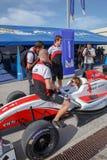 Eurocup Formula Renault 2.0 2014 - Simon Gachet - ART Junior Tea Stock Image