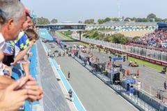 Eurocup Formula Renault 2.0 2014 - Starting grid Stock Photos