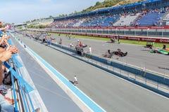 Eurocup Formula Renault 2.0 2014 - Starting grid Royalty Free Stock Photos