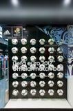 Eurocup Polen Ukraine Tangobeamtkugel 2012 Lizenzfreie Stockfotos