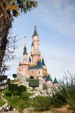 Eurodisney-White snow castle Stock Photography