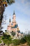 Eurodisney-White snow castle Stock Photography