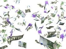 Eurodollar Geld Lizenzfreies Stockfoto