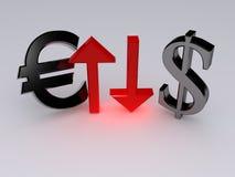 Eurodollaro Fotografia Stock Libera da Diritti