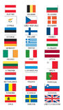 euroen flags användaretillstånd