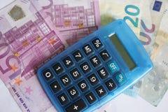 20 50 100 euroeuropean för 500 valuta Arkivbild