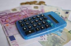 20 50 100 euroeuropean för 500 valuta Arkivbilder