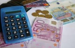 20 50 100 euroeuropean för 500 valuta Royaltyfria Bilder