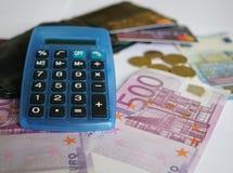 20 50 100 euroeuropean för 500 valuta Royaltyfria Foton