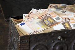 20 50 100 euroeuropean för 500 valuta Arkivfoton