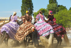 EuroFeria Andaluza Royalty Free Stock Photography