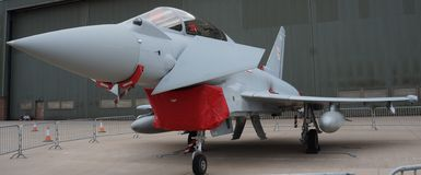 Eurofighers τυφώνα Στοκ εικόνα με δικαίωμα ελεύθερης χρήσης